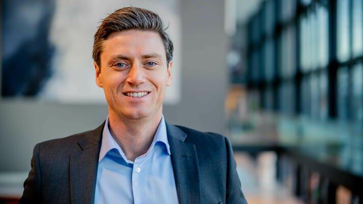 Lars-Erik Eriksen, leder for salg til bedriftsmarkedet i Storebrand.