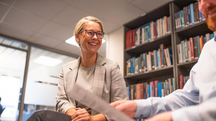Elisabeth Slettedal, daglig leder i Advokatfirma Tofte i Kristiansand.