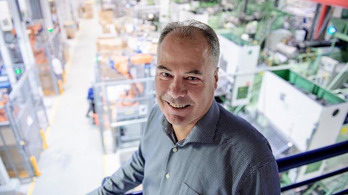 Svein Egestad, administrerende direktør i det internasjonale plast-selskapet RPC Packaging.