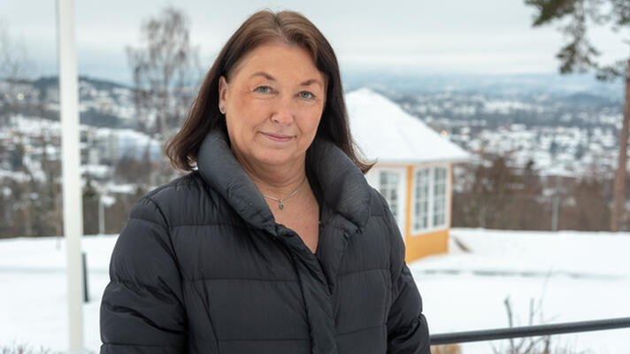 Ann Iren Skogen, daglig leder i Stiftelsen Holmenkollen Dagsenter og Boliger.