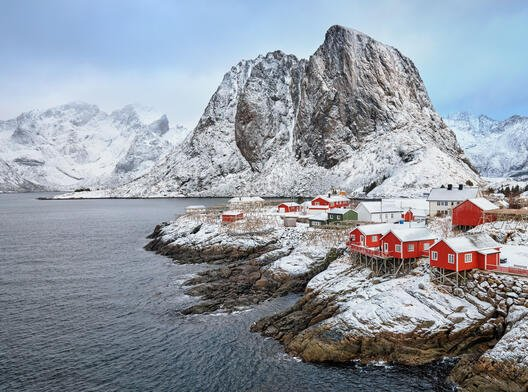 Fiskevær i Lofoten.