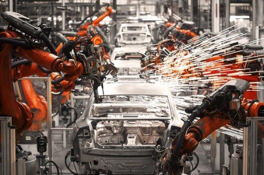 Maskinproduksjon av biler