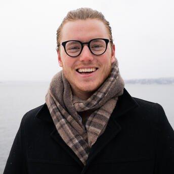 Marcus Bruns, nordisk bærekraftsjef i Storebrand,