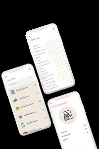 Illustrasjon: Bli frisk - mobilappen er stadig under utvikling