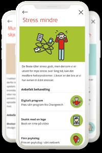 Illustrasjon: Bli frisk - digitale program og artikler