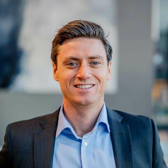 Lars-Erik Eriksen, leder for bedriftsmarkedet i Storebrand.
