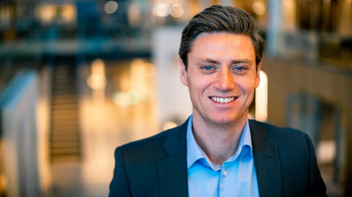 Lars-Erik Eriksen, leder for bedriftsmarked i Storebrand.