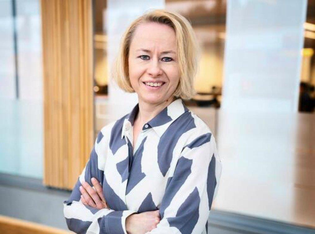 Carry Christine Solie, pensjonsekspert i Storebrand.