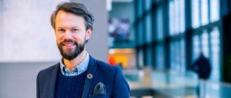 Pensjonsrådgiver i Storebrand Øyvind Bendz Strøm.