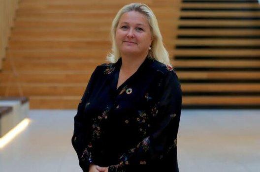 Kristin Skaug, daglig leder i AksjeNorge.
