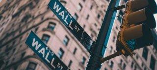 Skilt til Wall Street i New York.