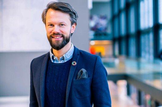 Portrett av spareekspert Øyvind Bendz Strøm