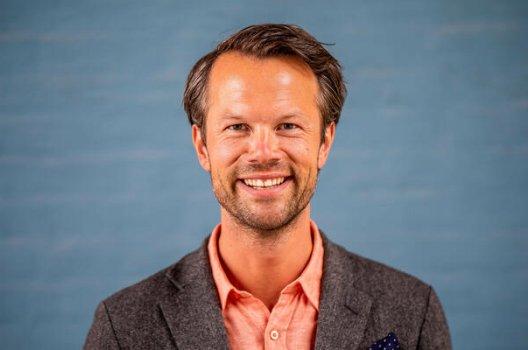 Portrett av pensjonsekspert Øyvind Bendz Strøm